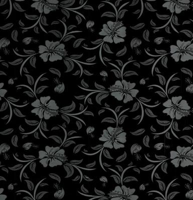Каштан 18мм Japanese flower black